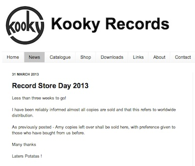 Kooky Records