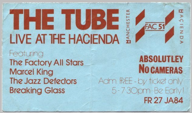 FAC 104 The Tube at the Hacienda