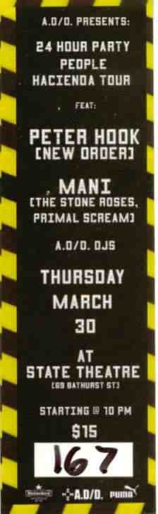 24 Hour Party People Hacienda Tour with Peter Hook and Mani; ticket detail [2]
