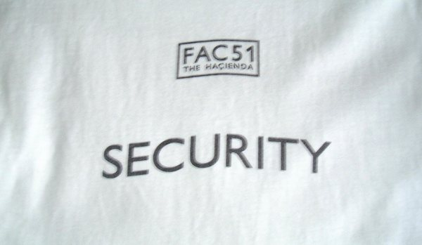 Hacienda Security Long Sleeved White T-Shirt