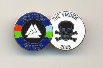 FAC 383 The Vikings; badges [2]